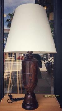 Đèn ngủ lục bình gỗ Đà Nẵng