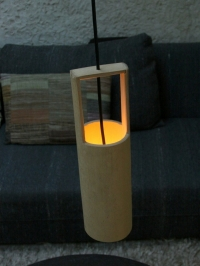 bamboo tube lights